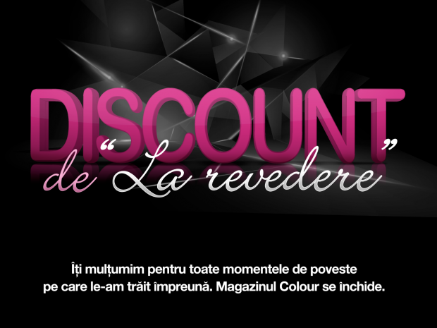 COLOUR-Farewell Discount